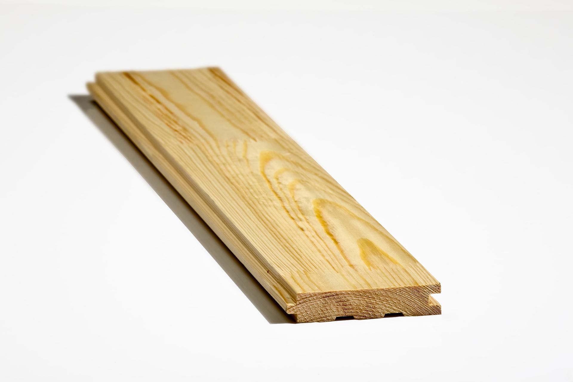 Вертикально сращенная доска пола (сосна-ель)